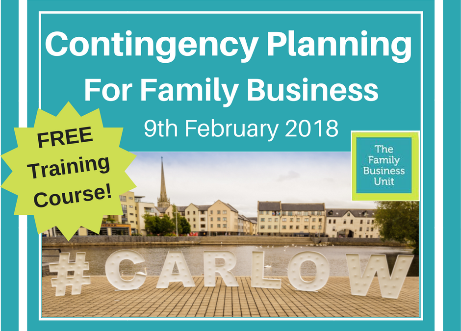 Great News for Carlow Family Businesses